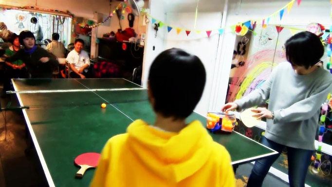 ちびっ子卓球大会