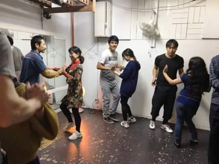 フォークダンス!
